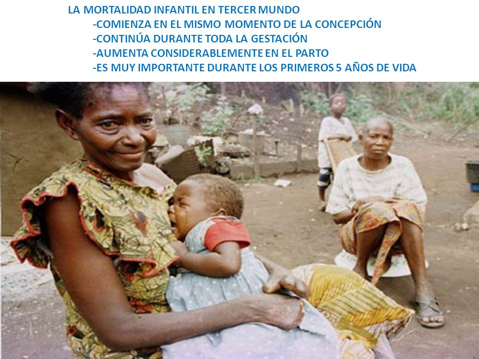 LA MORTALIDAD INFANTIL EN TERCER MUNDO