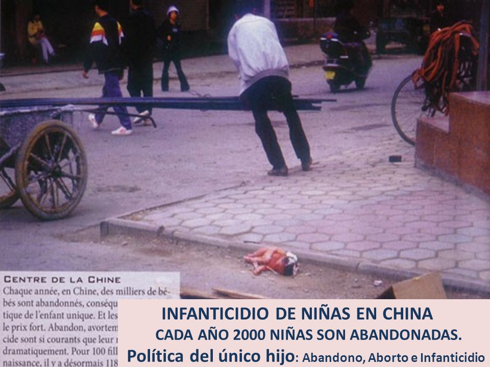 INFANTICIDIO DE NIÑAS EN CHINA