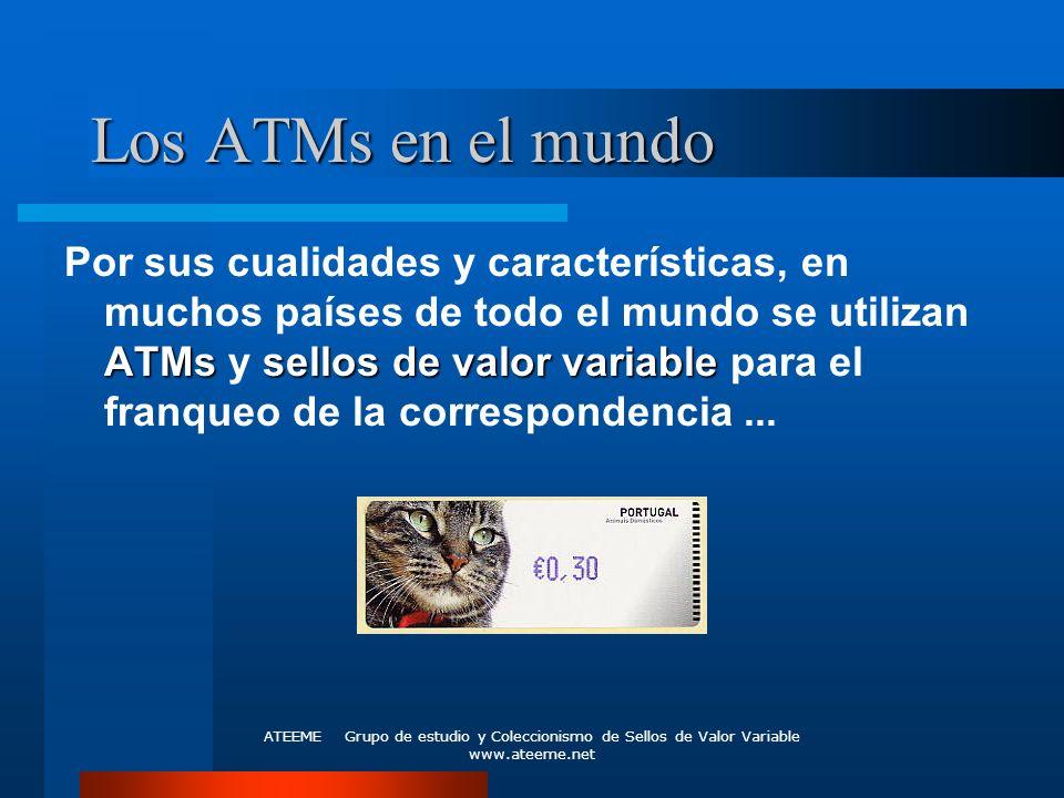 Los ATMs en el mundo
