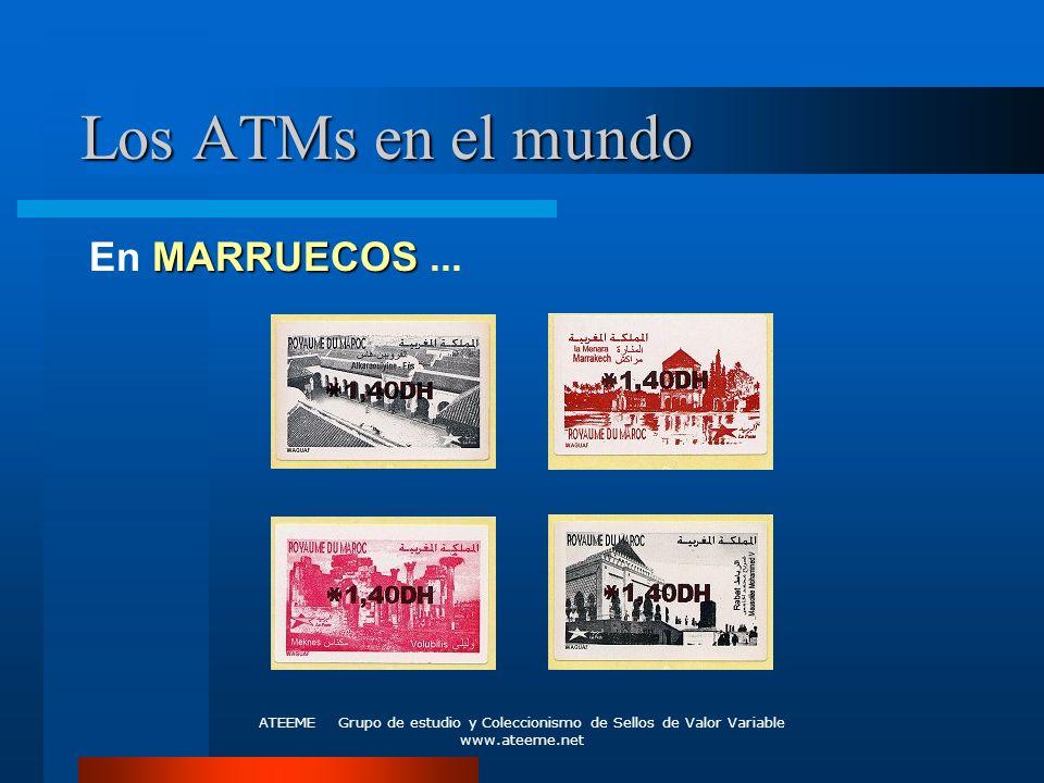 Los ATMs en el mundo En MARRUECOS ...