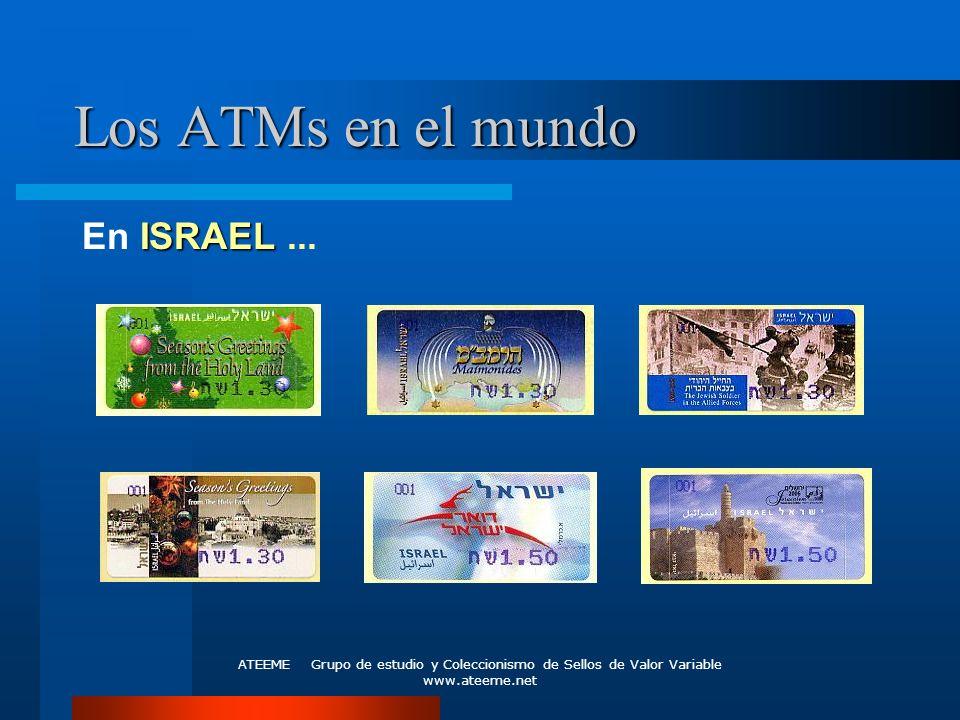 Los ATMs en el mundo En ISRAEL ...