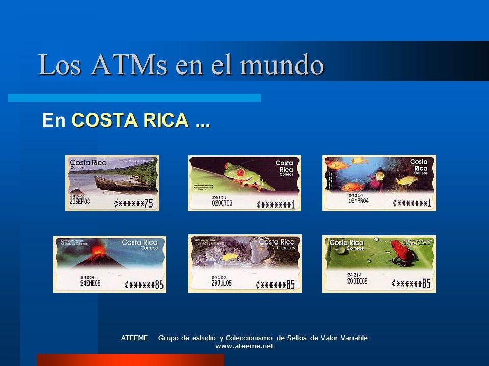 Los ATMs en el mundo En COSTA RICA ...