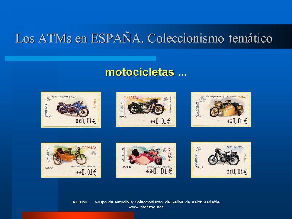 Los ATMs en ESPAÑA. Coleccionismo temático