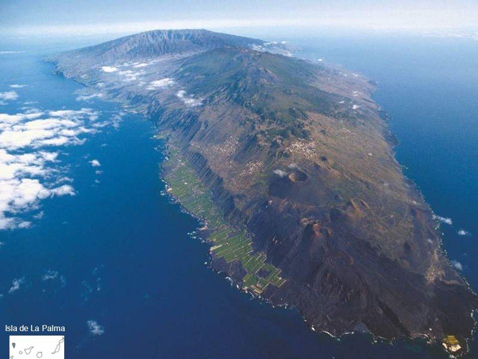 Rift volcánicos, o dorsales como se las denomina en Canarias, constituyen por el contrario, estructuras volcánicas muy recientes cuya elaboración se ha llevado a cabo durante el último millón de años. Este tipo de estructuras es la que acoge a la mayor parte de las erupciones históricas de las isla