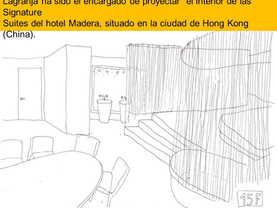 Lagranja ha sido el encargado de proyectar el interior de las Signature Suites del hotel Madera, situado en la ciudad de Hong Kong (China).