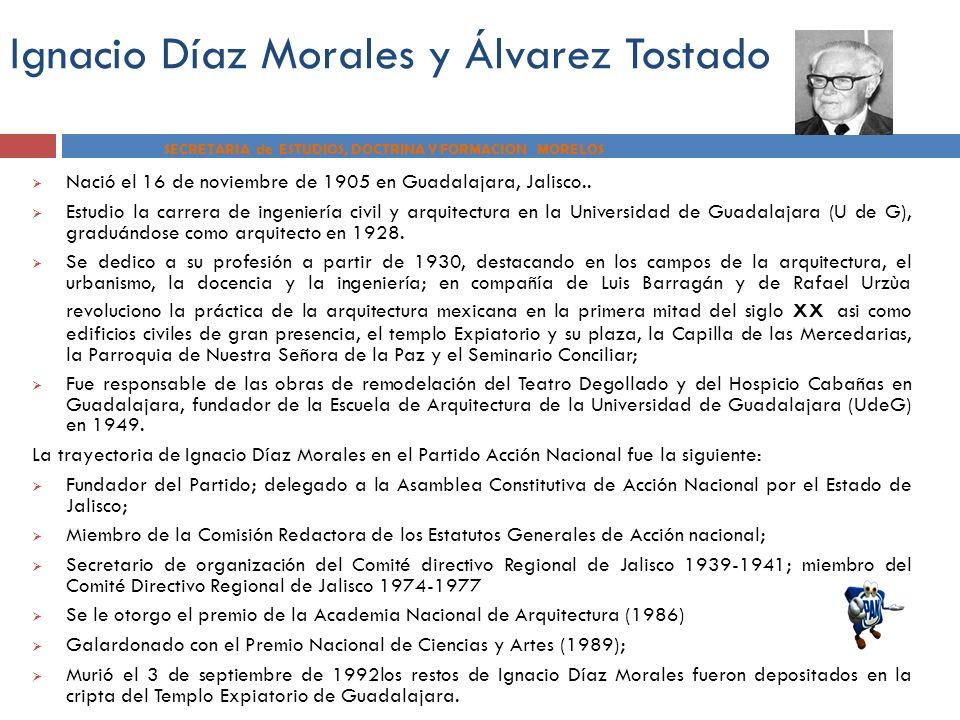 Ignacio Díaz Morales y Álvarez Tostado