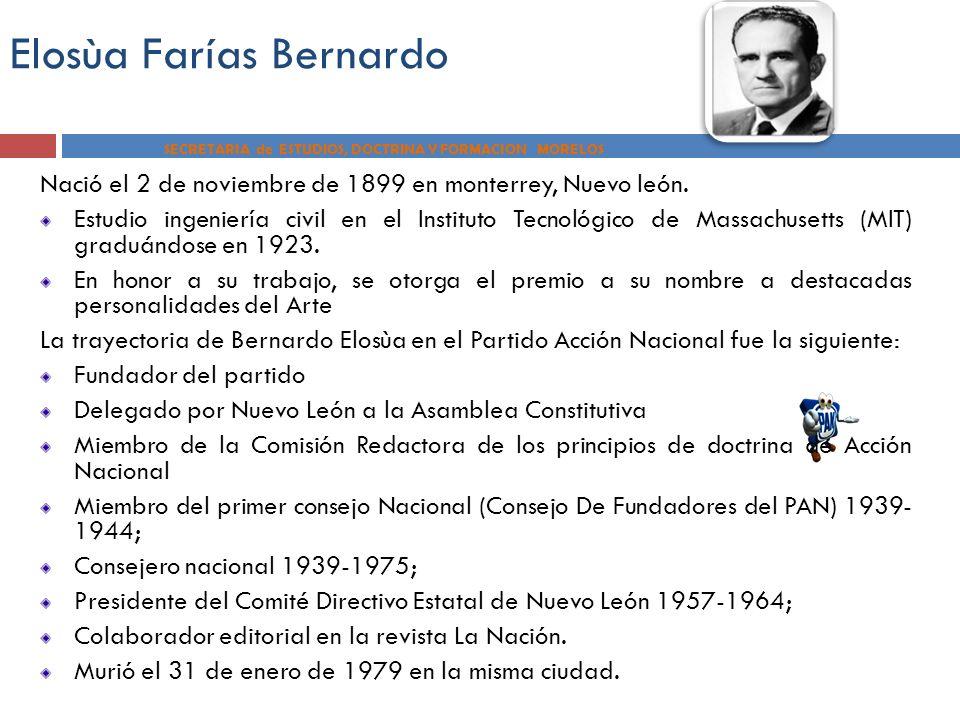 Elosùa Farías Bernardo