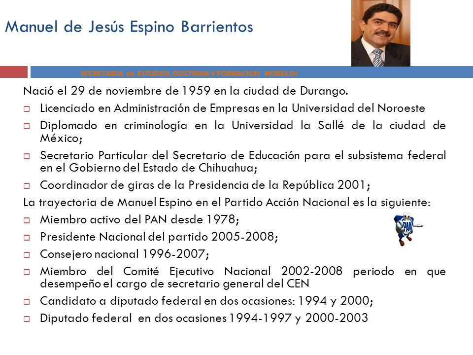Manuel de Jesús Espino Barrientos