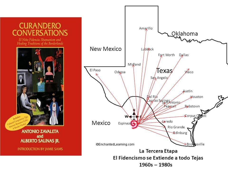 Texas Oklahoma New Mexico Mexico La Tercera Etapa