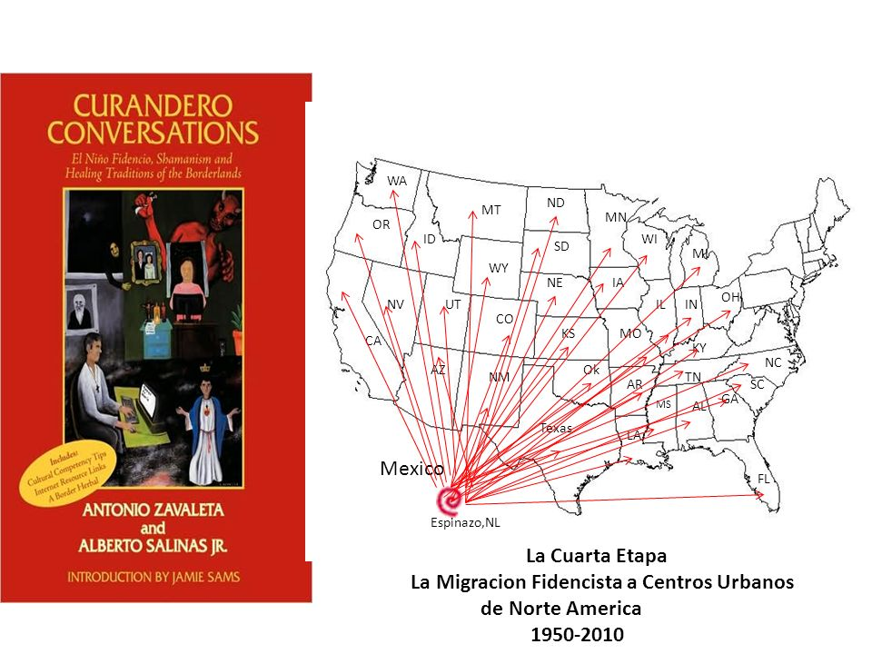La Migracion Fidencista a Centros Urbanos de Norte America 1950-2010