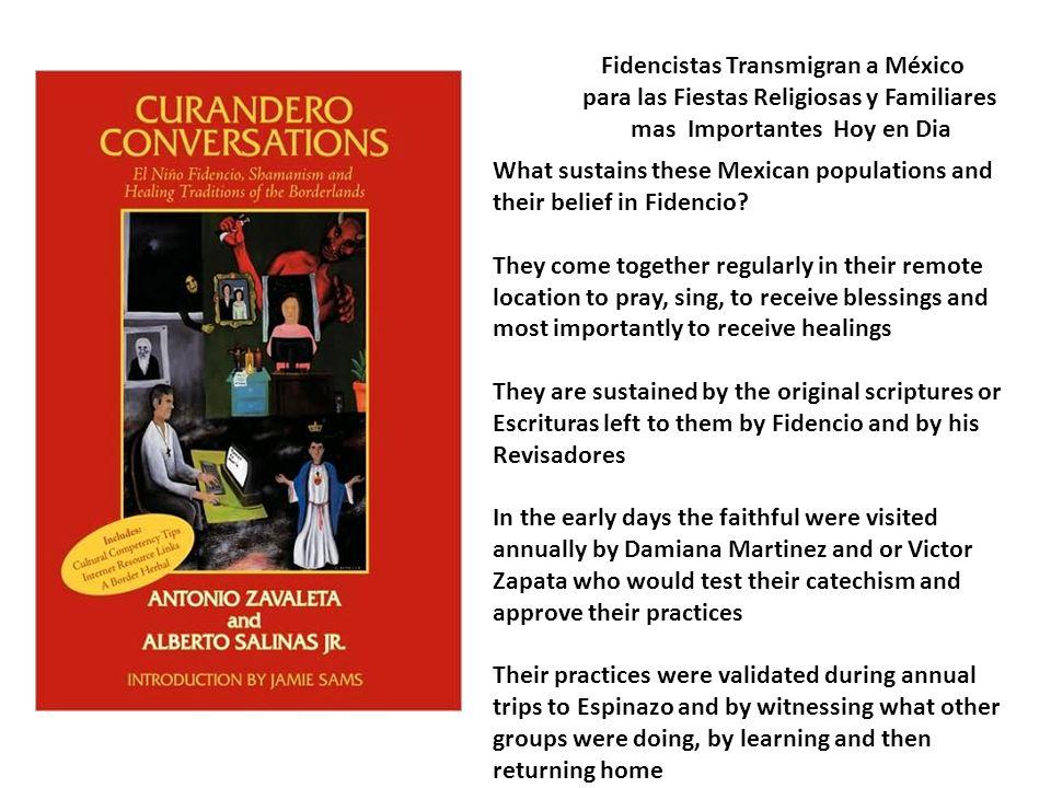 Fidencistas Transmigran a México