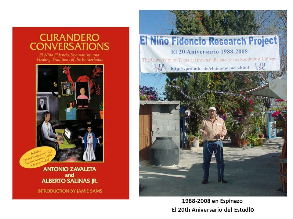 1988-2008 en Espinazo El 20th Aniversario del Estudio