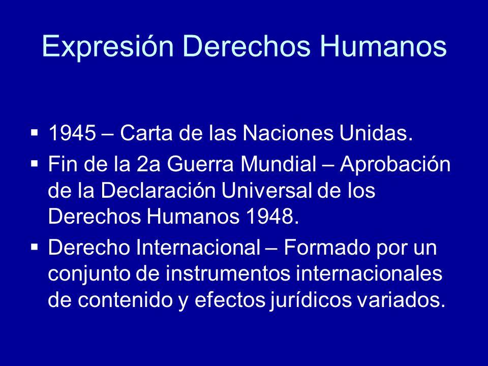 Expresión Derechos Humanos