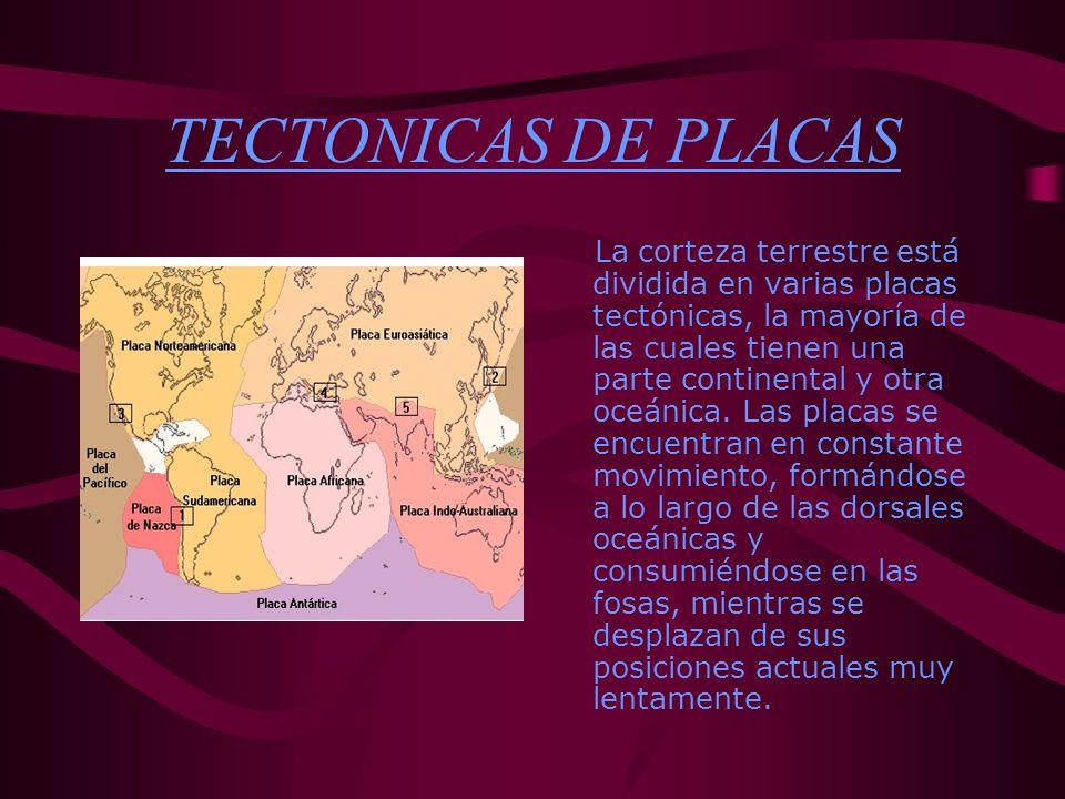 TECTONICAS DE PLACAS