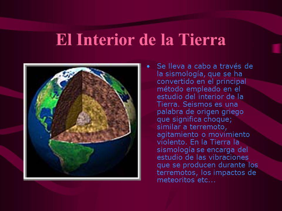 El Interior de la Tierra