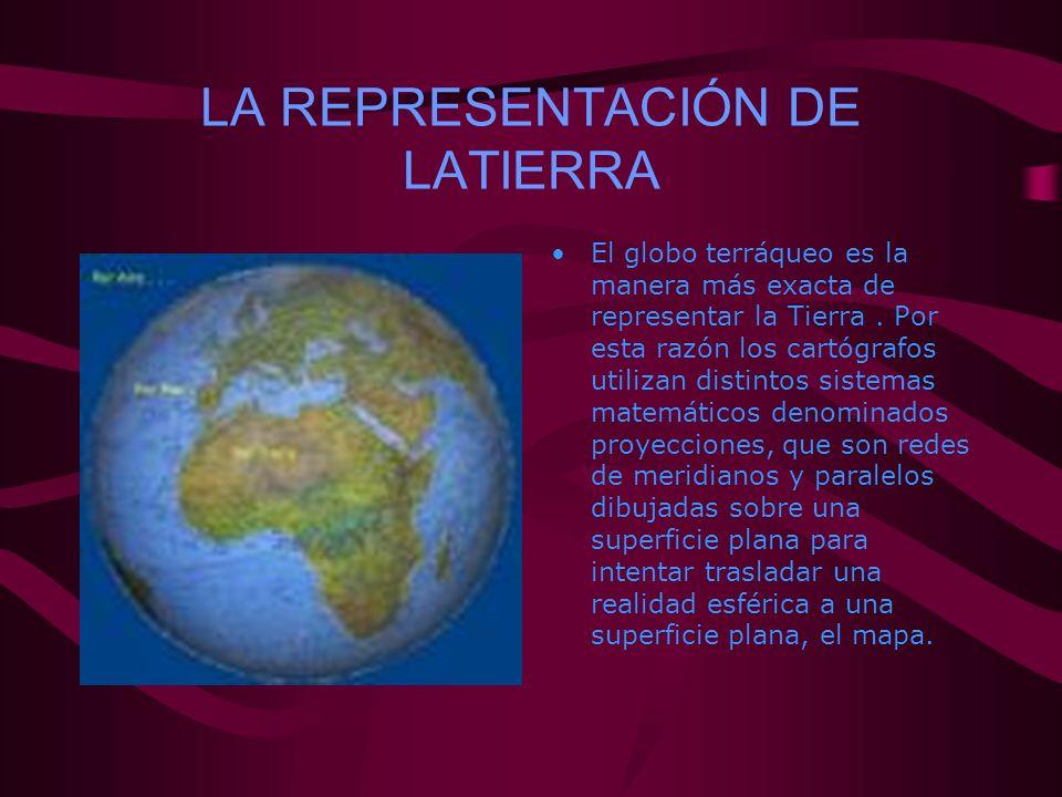 LA REPRESENTACIÓN DE LATIERRA