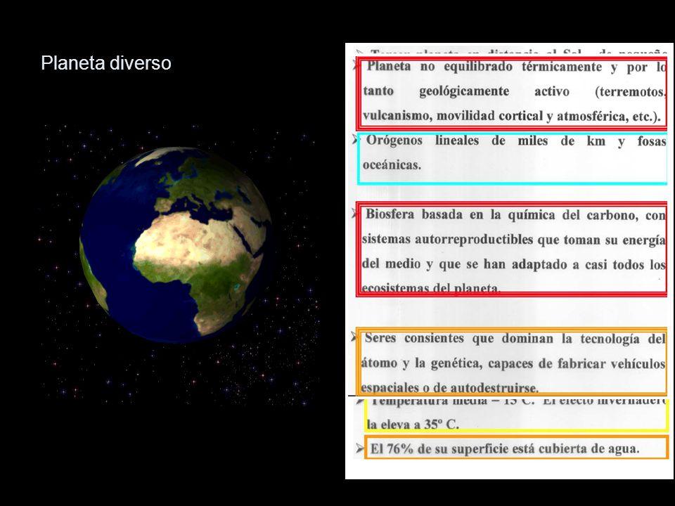 Planeta diverso