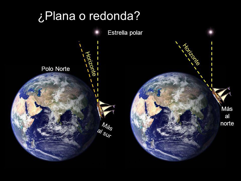 ¿Plana o redonda Se explica porque la Tierra es esférica