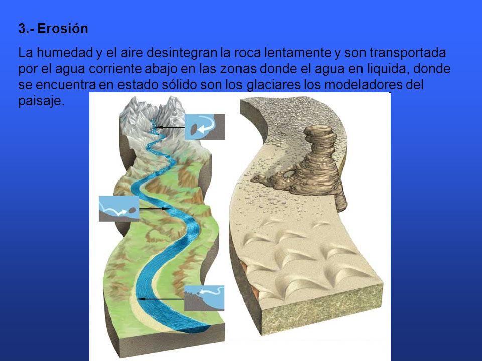 3.- Erosión