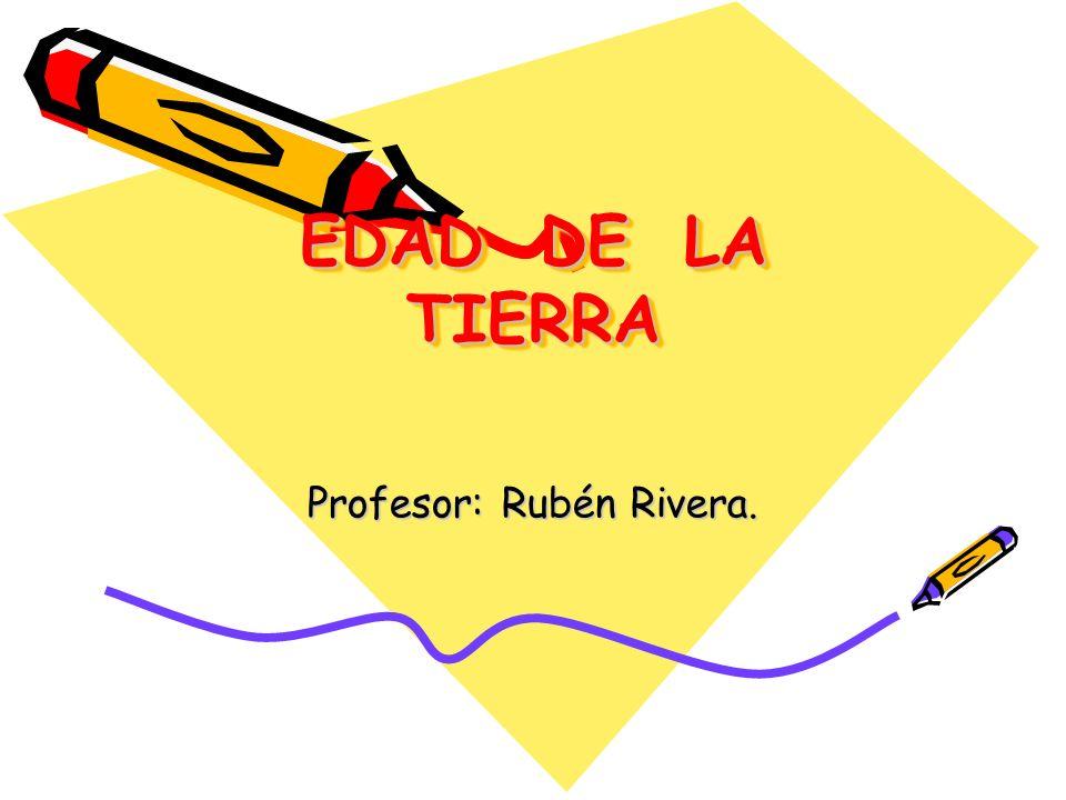 Profesor: Rubén Rivera.
