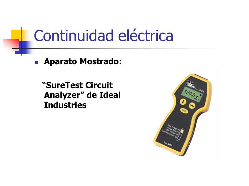 Continuidad eléctrica