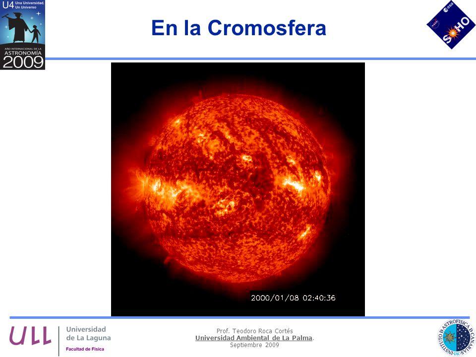En la Cromosfera