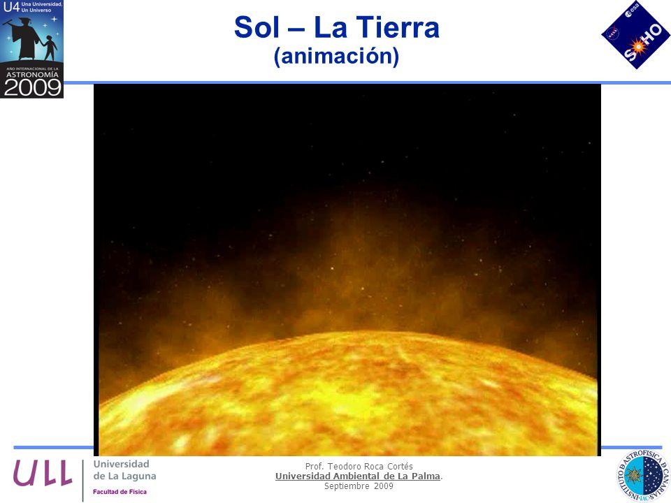 Sol – La Tierra (animación)