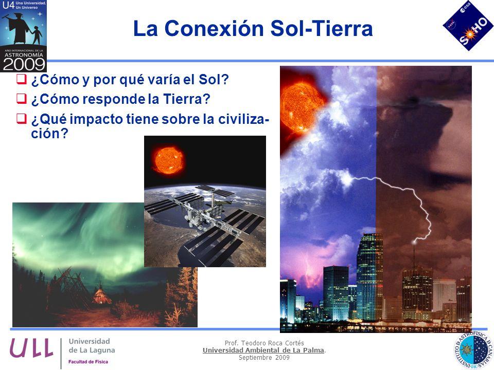 La Conexión Sol-Tierra