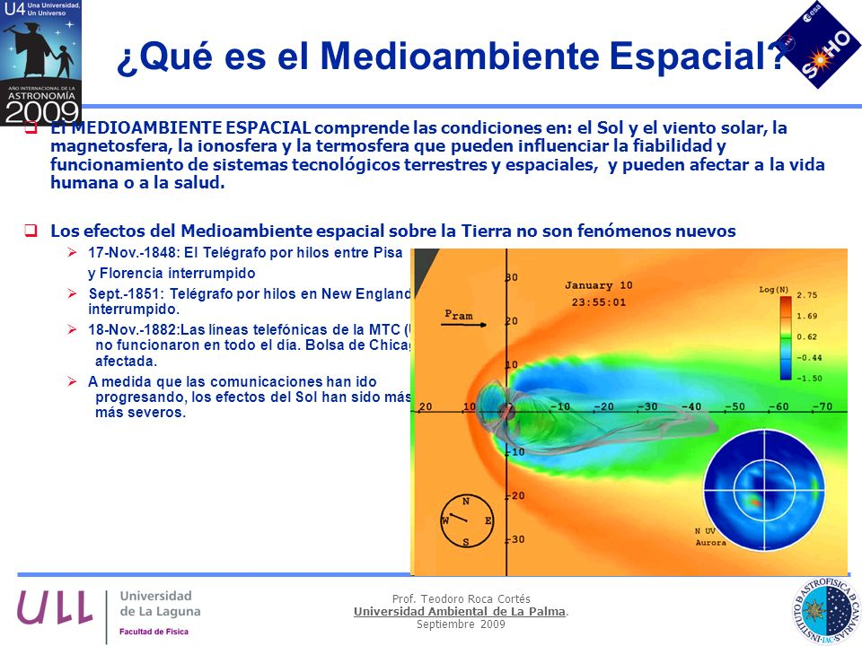 ¿Qué es el Medioambiente Espacial