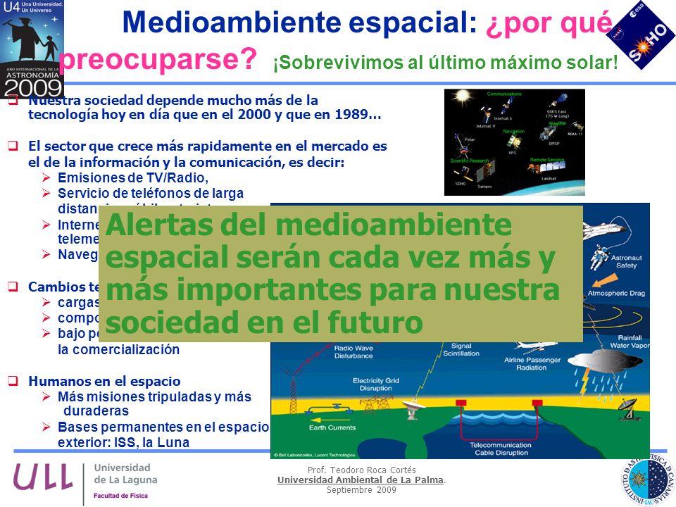 Medioambiente espacial: ¿por qué preocuparse