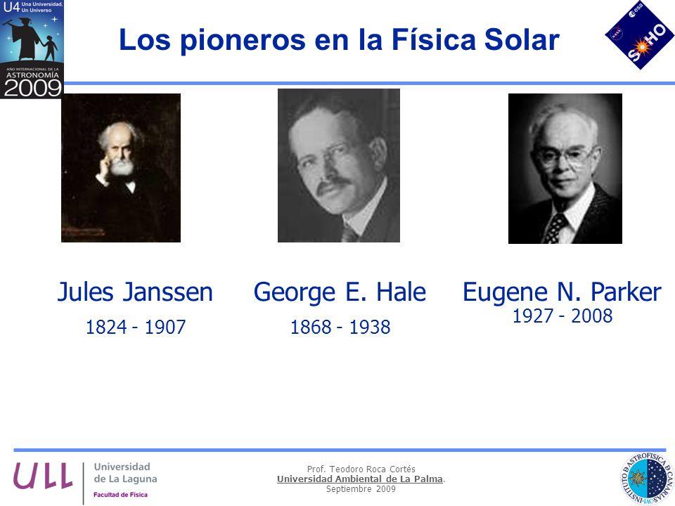 Los pioneros en la Física Solar