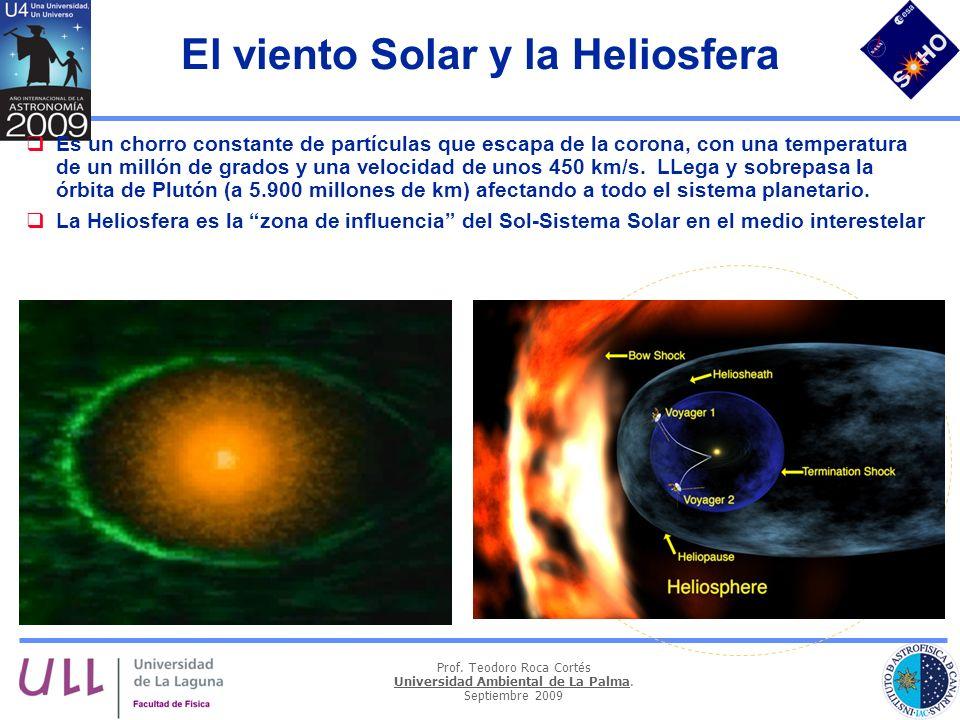 El viento Solar y la Heliosfera