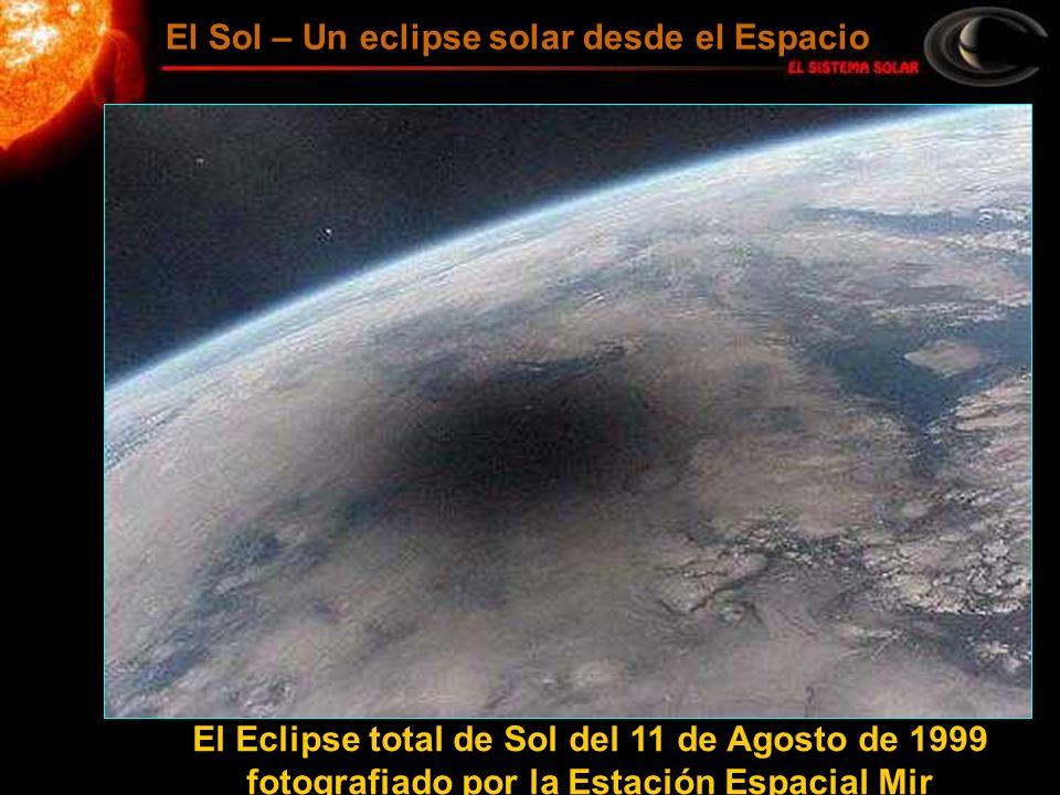 El Sol – Un eclipse solar desde el Espacio