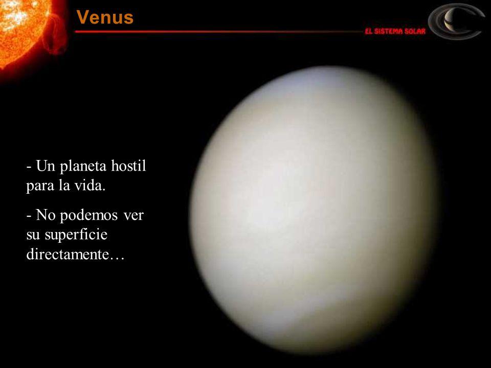 Venus Un planeta hostil para la vida.