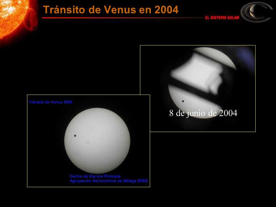 Tránsito de Venus en 2004 8 de junio de 2004