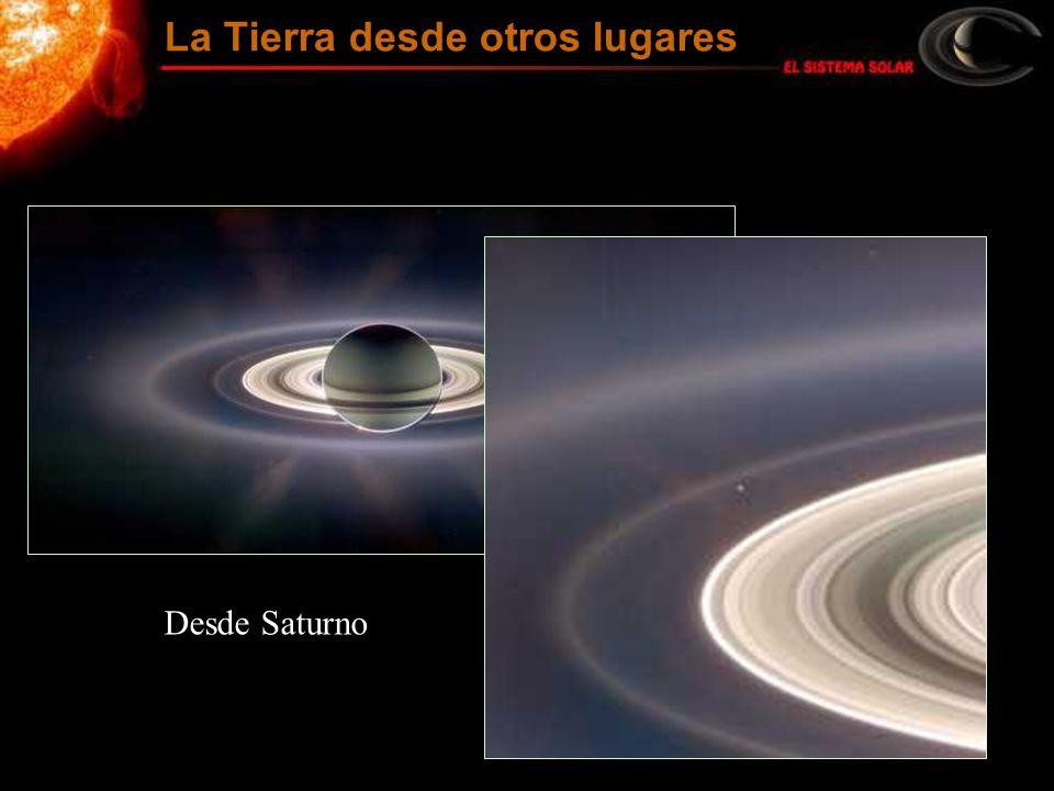 La Tierra desde otros lugares