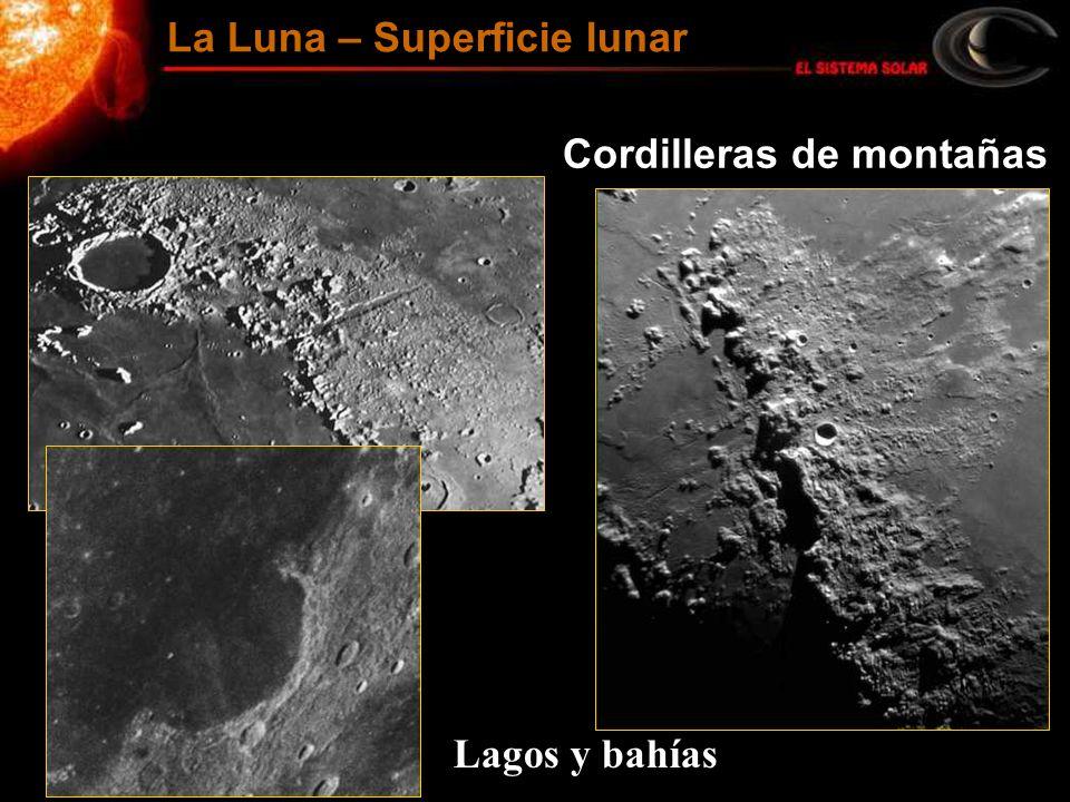 La Luna – Superficie lunar
