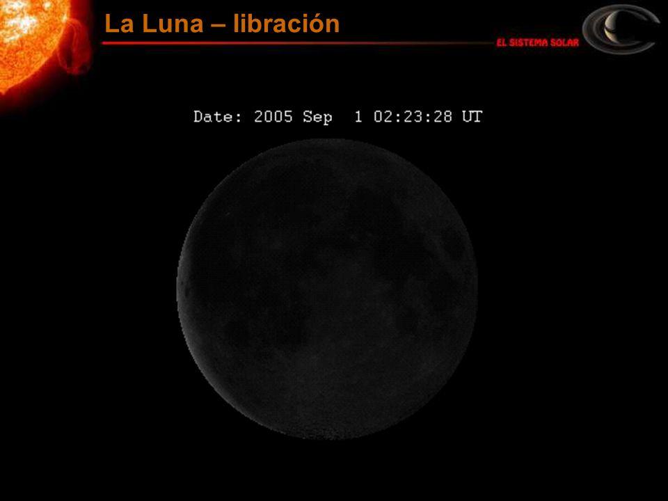La Luna – libración
