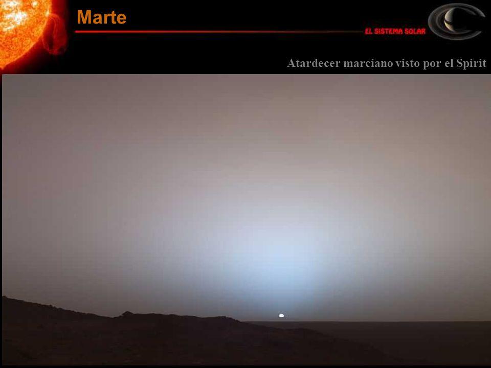 Marte Atardecer marciano visto por el Spirit
