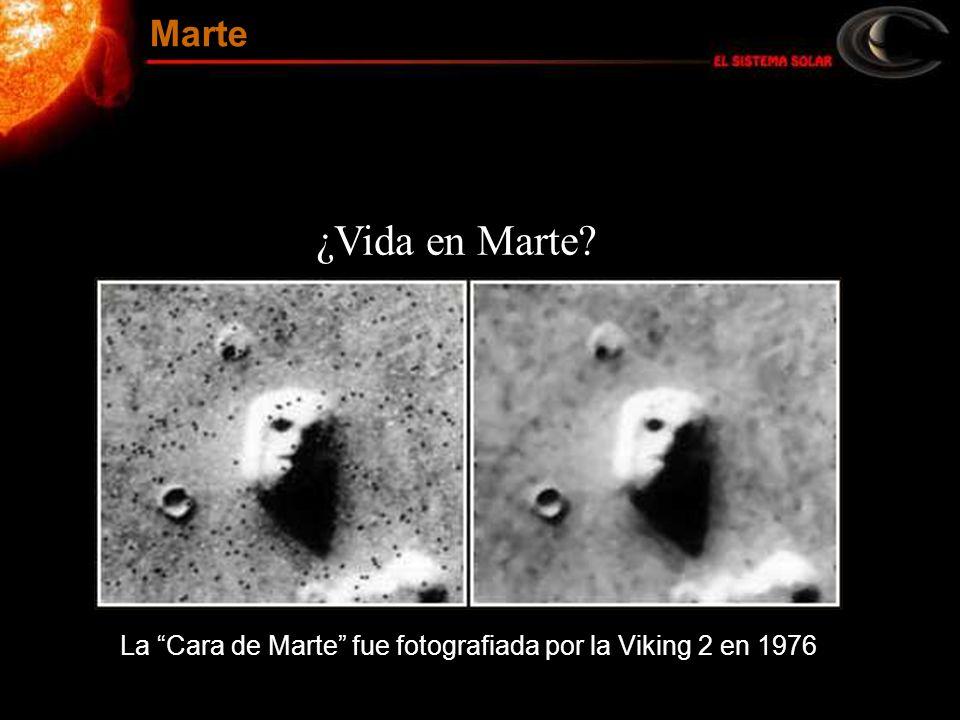 La Cara de Marte fue fotografiada por la Viking 2 en 1976