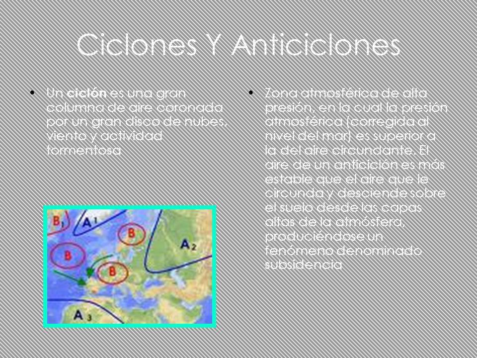 Ciclones Y Anticiclones