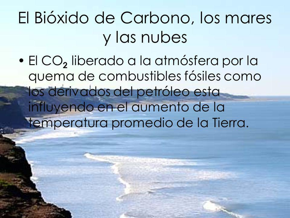 El Bióxido de Carbono, los mares y las nubes