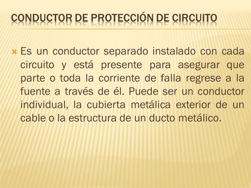 Conductor de protección de circuito