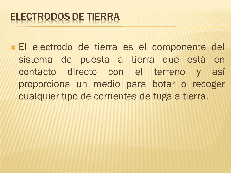 Electrodos de tierra