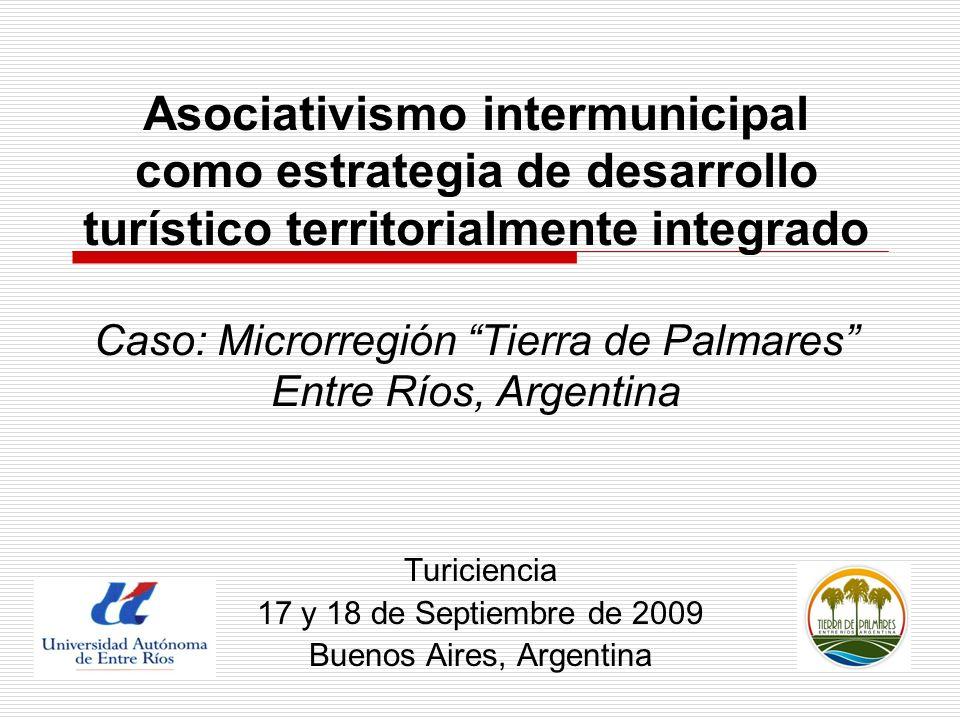 Turiciencia 17 y 18 de Septiembre de 2009 Buenos Aires, Argentina