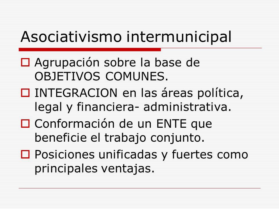 Asociativismo intermunicipal