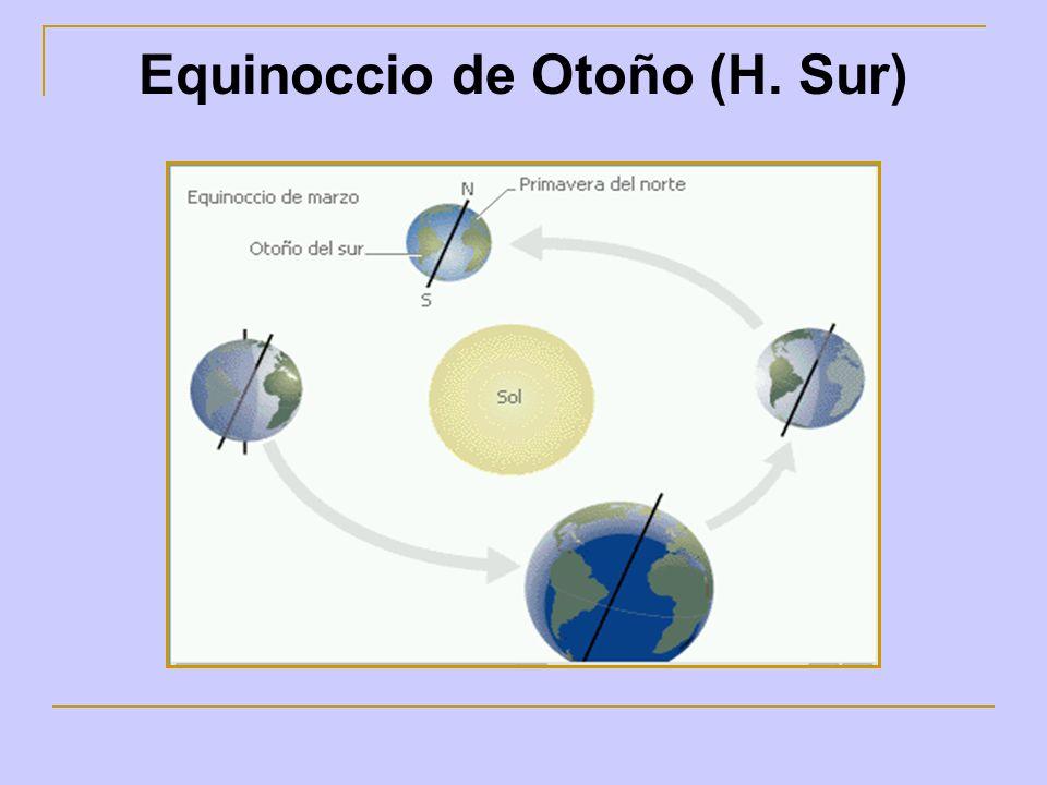 Equinoccio de Otoño (H. Sur)