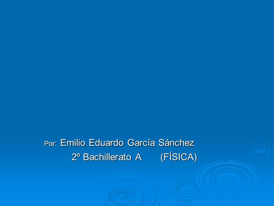 2º Bachillerato A (FÍSICA)