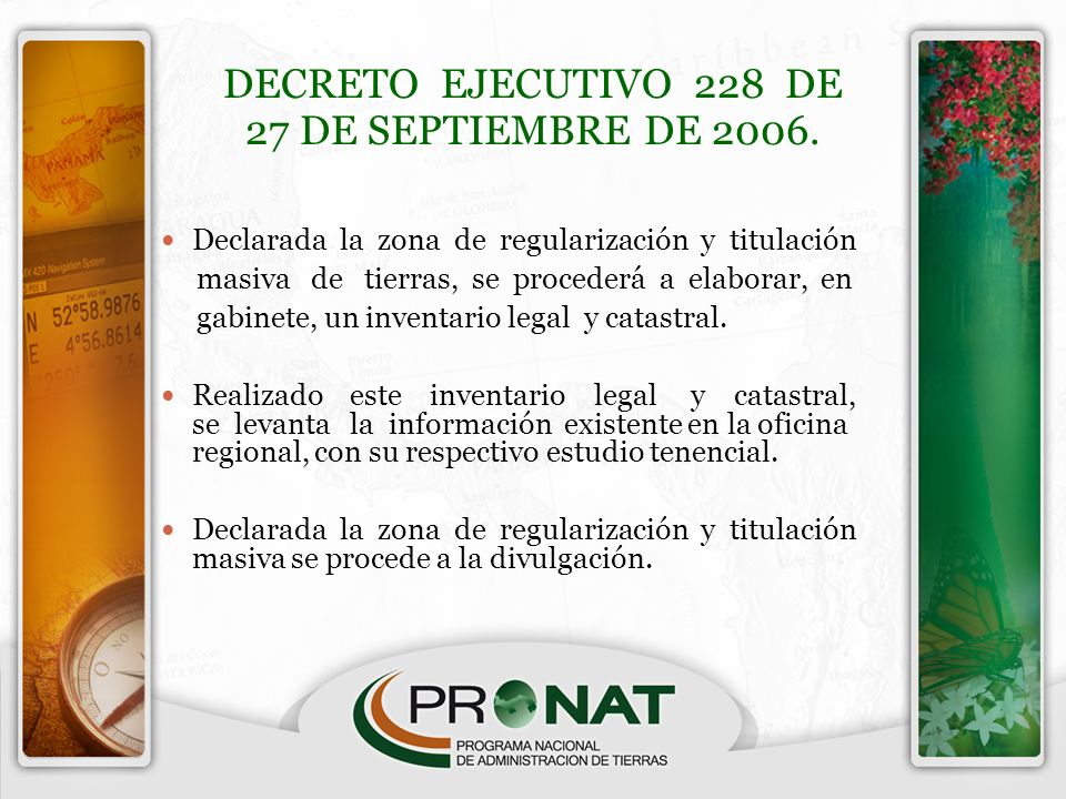DECRETO EJECUTIVO 228 DE 27 DE SEPTIEMBRE DE 2006.