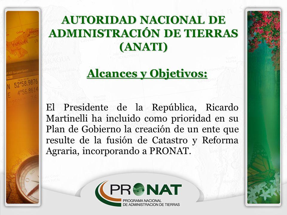 AUTORIDAD NACIONAL DE ADMINISTRACIÓN DE TIERRAS (ANATI)